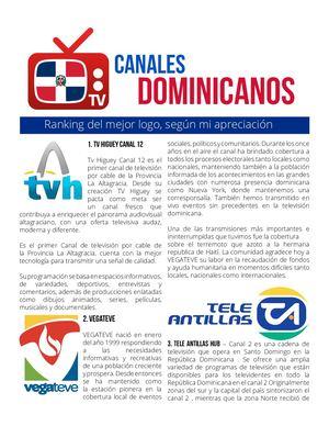 Calaméo Logos Canales Dominicanos