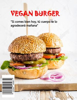 Revista Vegan Burger