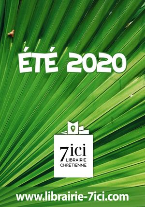 Catalogue de l'été 2020