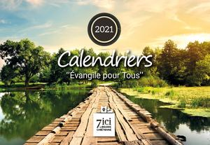 Catalogue de calendrier 2021 7ici