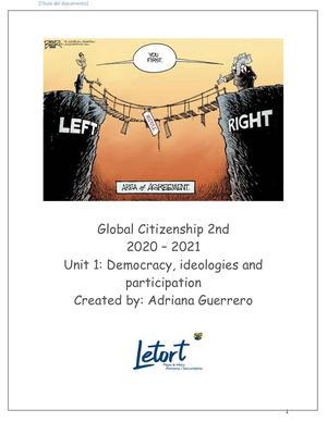 Global Citizenship 2do