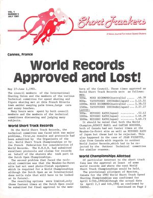 1981 July Short Trackers Magazine