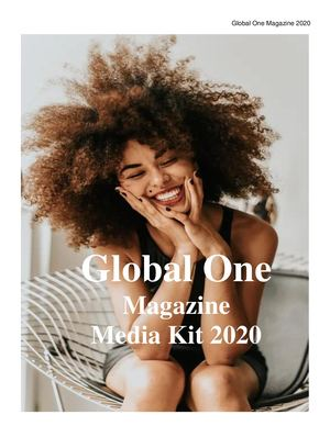 Media Kit Global One 2020 Xo July 30