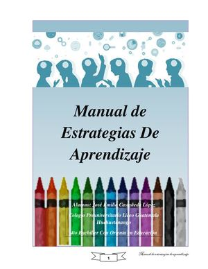 Manual Strategias De Aprendizaje