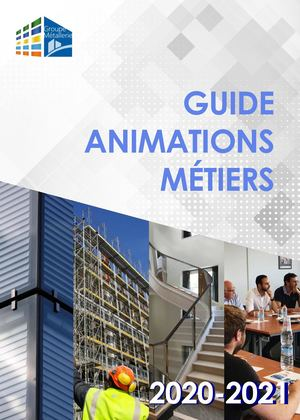 Animation Metiers 2020