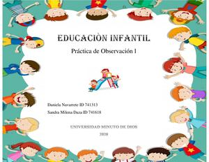 Cartilla Educacion Infantil