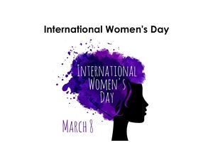 International Women's Day (8 March) 2020