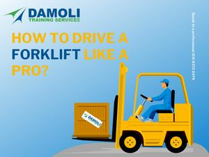 How To Drive A Forklift Like A Pro