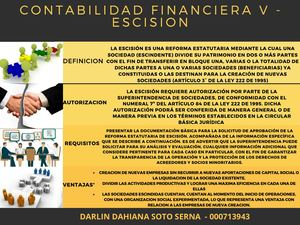 Contabilidad Financiera V Escision