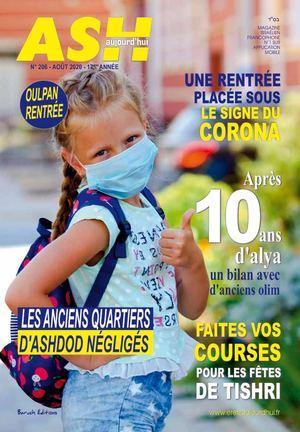 Ash Aujourd'hui N°206 Aout 2020