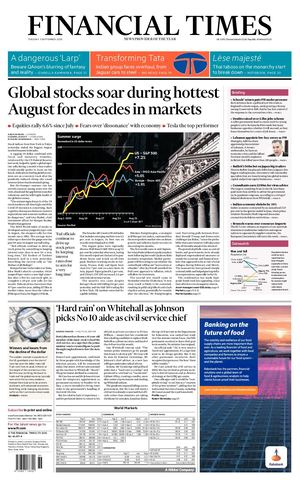 Calamu00e9o Financial Times Uk 01 09