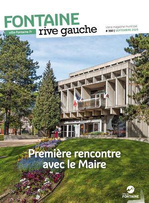 Fontaine Rive Gauche 350 Septembre 2020