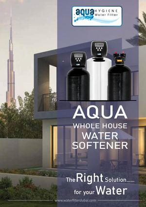 Whole House Water Softener System