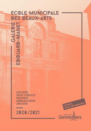 ECOLE MUNICIPALE DES BEAUX-ARTS / GALERIE EDOUARD-MANET 2020-2021