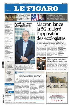 Journal La Figue Du Mercredi 16 Septembre 2020