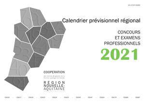 Calaméo   Calendrier Concours Et Examen 2021