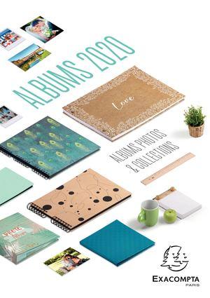 Exaclair Katalog 2020 - Foto- und Sammelalben, Gästebücher