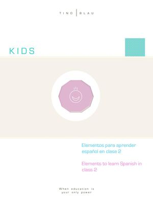KIDS - Communication P 3 Elements To Learn Spanish 2