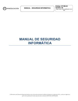 Manual De Seguridad Informatica Hacking