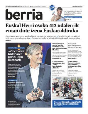 BERRIA / 2020-09-25