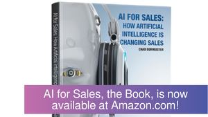AI for Sales, the Book, is now available at Amazon.com!