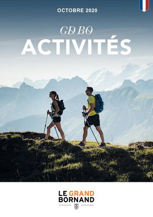 Programme des activités - Program of activities