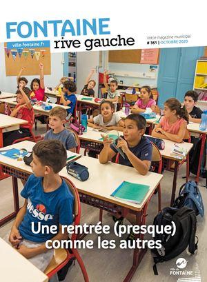 Fontaine Rive Gauche 351 Octobre 2020
