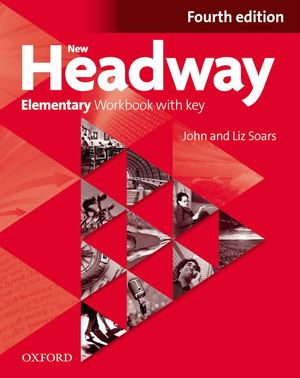 091 New Headway Elementary Workbook With Key 4th Ed 2012 96p