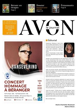 Avon Le Journal n° 50