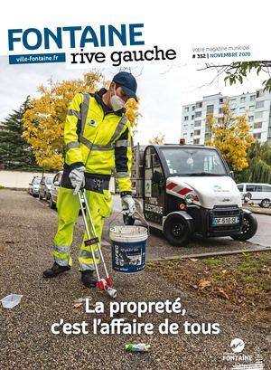 Fontaine Rive Gauche 352 Novembre 2020