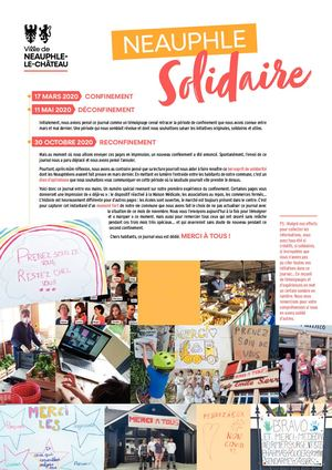 Neauphle Solidaire Novembre 2020