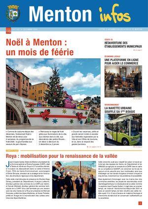 MENTON INFOS N°113