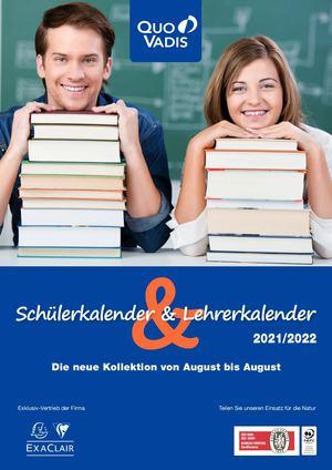 Schüler- und Lehrerkalender 2021-2022 – Quo Vadis