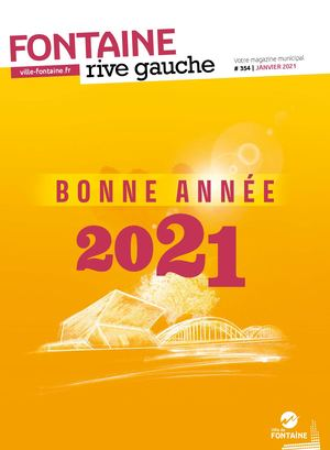 Fontaine Rive Gauche 354 Janvier 2021
