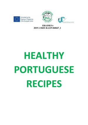 Healthy portuguese recipes