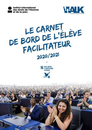 Walk the Global Walk - Carnet de bord de l'élève facilitateur - 2020/2021