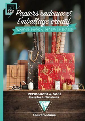 Exaclair Katalog 2020 - Geschenkpapiere und Verpackungen 2021