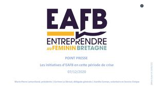 Présentation – Les Initiatives d'EAFB – Point presse 07/12/2020