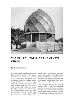 The Failed Utopia Of The Crystal Chain