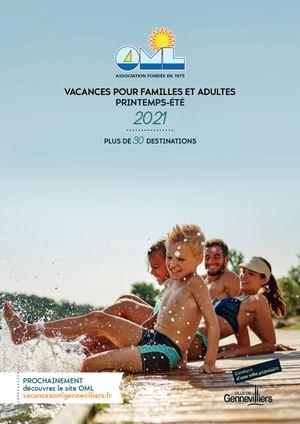 Catalogue OML Printemps - été 2021