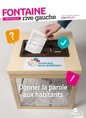Fontaine Rive Gauche 356 Mars 2021