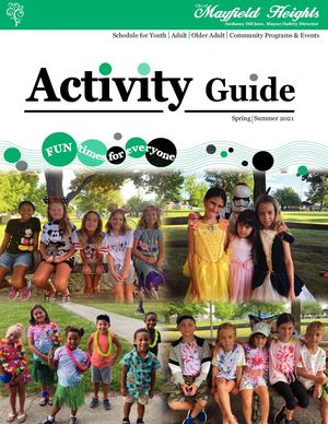 2021 Summer Parks & Recreation Brochure