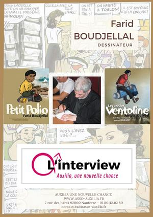 Interview de Farid Boudjellal - dessinateur