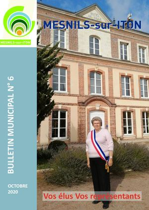 Bulletin municipal N°6 - Octobre 2020