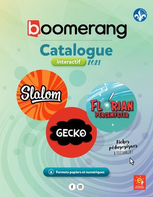 Catalogue interactif Boomerang