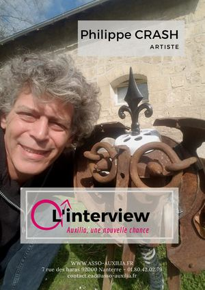 Interview de Philippe Crash - Artiste