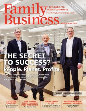 Family Business Magazine—March/April 2021