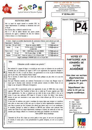 Bulletin Acad Congres 2021