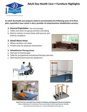 Adult Day Health Care Practical Furniture Approach