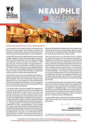 Janvier/Février 2021 (+ dossier urbanisme)